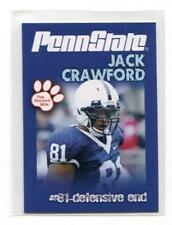 JACK CRAWFORD 2010 Penn State Second Mile Junior DALLAS Cowboys DE QUANTITY
