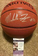 MARKELLE FULTZ SIGNED SPALDING NBA BASKETBALL PHILADELPHIA 76ERS 1ST PICK JSA