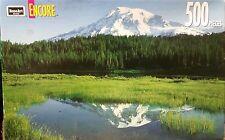 "Encore 500pc Puzzle Reflection Lake Mount Rainier - Sealed - 13"" x 19"""