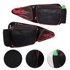 Hot !UTV Side Door Bag+Knee Pad For Polaris RZR XP 1000 900XC S900 Turbo 14-18