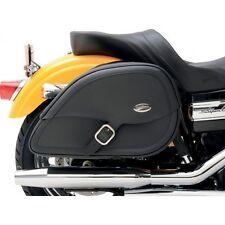 Saddlemen Drifter Teardrop Saddlebags with Shock Cutaway  3501-0459