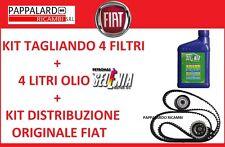 KIT TAGLIANDO OLIO SELENIA + KIT DISTRIBUZIONE FIAT BRAVO II 1.6 Multijet Diesel