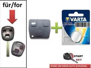 Toyota  Schlüssel Gummi + Batterie Yaris Corolla Avensis  key chiave cle Llave