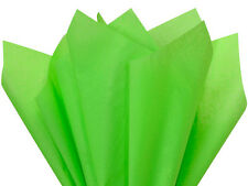 """Groovy Green Tissue Paper 960 Sheets 15x20"""" Crafts Gifts Pompoms Made in Usa"""