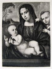 Francesco Francia Madonna con Bambino Cristiano Gesù Cristo Madonna con bambino
