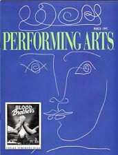 DAVID CASSIDY Performing Arts Mar 95 BLOOD BROTHERS featured! PETULA CLARK