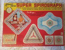 Vintage Original 1969 Kenner's Super Spirograph Set 2400 W/ Super Square