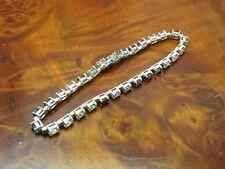 925 Sterling Silber Armband mit div. Besatz / Echtsilber / 21,3 cm / 12,5g