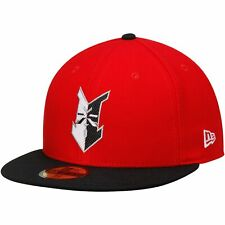 Indianapolis Indians New Era Authentic Home 59FIFTY Fitted Hat - Red/Black