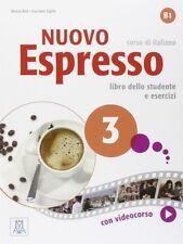 NUOVO ESPRESSO 3 ALUMNO +DVD. NUEVO. Nacional URGENTE/Internac. económico. METOD