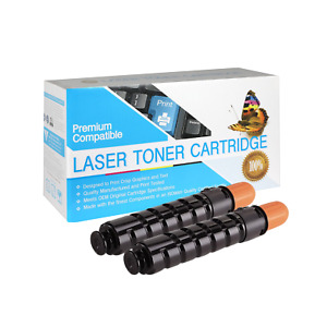 GPR35 Compatible SO Toner Cartridge for Canon 2520 (Black,2 Pack)