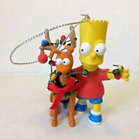 2008 Bart Simpson Christmas Dog Ornament Santas Little Helper 114 Heirloom