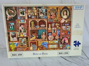 House of puzzles big 250 jigsaws Super Unusual Bric A Brac Darley Collection
