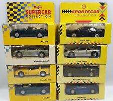 CARS : ASTON MARTIN X 2, BMW 850I, LOTUS ESPRIT & ELAN, CORVETTE ZR 1, MG SET