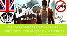 DMC: Devil May Cry Steam key no VPN Region Free UK Verkäufer