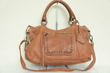 Moni Moni Splendor Brown Leather Convertible Shoulder Bag MSRP $495