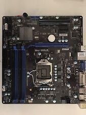 MSI B75MA-P45 Intel B75 Motherboard Socket 1155 LGA1155 CPU mATX PCIE 3.0