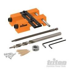 Woodworking Pocket Hole Drill Guide Jig Adjustable Jig TWAJ 463419