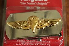 USN US NAVY ENLISTED SHIP SHORE AIR CREW'S PARACHUTIST SPECIALTY BELT BUCKLE