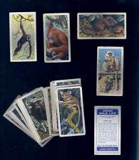 TRADE CARDS=Brooke Bond Tea .ASIAN WILD LIFE.48 cards.Animals