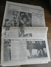 Boston Sunday Globe Sports Section, June 5, 1977, 22 pages of variety of sports