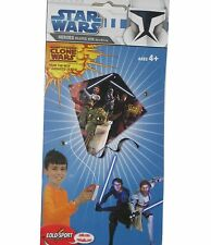 STAR WARS, the Clone Wars Drachen Yoda, Obi Wan  62x62cm Kite/ Flug Drache NEU