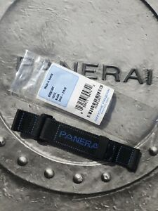 OFFICINE PANERAI OEM 24mm BLACK AND BLUE TEXTILE DIVE STRAP BRAND NEW STANDARD