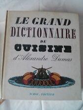 LE GRAND DICTIONNAIRE DE CUISINE (Alexandre Dumas) de 1965 Exemplaire n° 1699