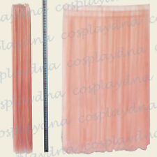 "24"" Milkshake Pink Heat Stylable Hair Weft Extention (3 pieces) Cosplay DNA 7KPN"
