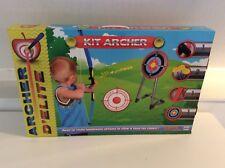Set Tir à l'Arc Enfant Flèche Support avec Cible laser lumineux  de tir