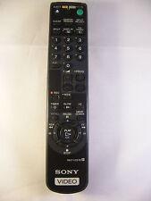 Original Sony Video VCR Remote Control RMT-V257B SLVSE20UX SLVSE200G SLVSE310i