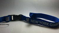 New York Giants Lanyard ID Badge Key Chain Clip Detachable Ticket Holder