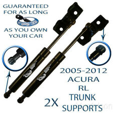 2 Two New Rear Trunk Lid Lift Supports Shock Strut Rod For 2005-2012 Acura RL