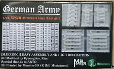 MJ Miniatures EZ35001  German Clamp Tool Set WWII   1:35