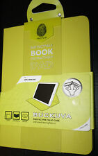 Tactus Buckuva Book Cover / Case for iPad Air | Green/Yellow