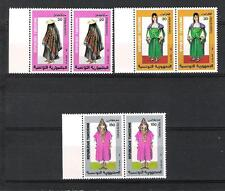 TUNISIE (1987) - LOT OF 3V x2 (**MNH) - COSTUMES