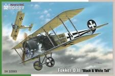SPECIAL HOBBY Fokker D.II Negro y Blanco Cola 1 :3 2 Kit Construcción 32065