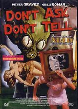 DON'T ASK DON'T TELL Peter Graves Greg Roman DVD Neu OVP