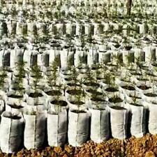 400x Plant Non-woven Nursery Pots Raising Bag Plants Holder Garden Supplies US