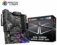 MSI MPG Z490M GAMING EDGE WIFI LGA1200 Intel 10th Gen Wi-Fi 6 M-ATX Motherboard