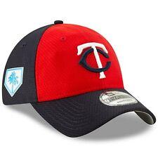 Era Minnesota Twins Red navy 2019 Spring Training 9twenty Adjustable Hat 78246e03b89e