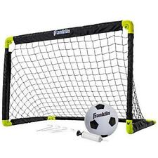 Franklin Sports Kids Mini Soccer Goal Set - Backyard/Indoor Mini Net and Ball