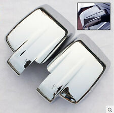 Fit For 07on Jeep Patriot Liberty Chrome Door Side Mirror Cover Trim Molding Cap