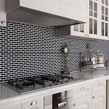Self Adhesive Wall Tile Peel and Stick Mosaic Backsplash Tile tor Kitchen,5-Pack