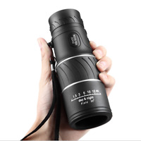 HD 16x52 66/8000M Optical Night Day Vision Monocular Single Telescope 22° Field