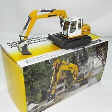 NZG No 678 is the model of the steel tracked Liebherr R 313 excavator New