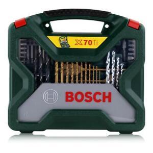 Bosch X-Line Titanium Schrauber/Bits und Bohrer Set 70tlg. (1er Pack)