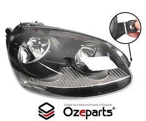 HELLA RH Right Head Light Lamp VW VolksWagen Golf Mk5 / Jetta 06~09 *DAMAGED