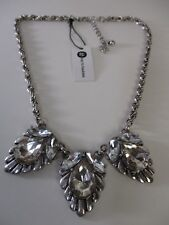 bay by baubles Crystal Fan Statement Necklace NWT $65