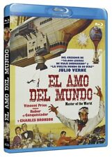 Master of the World (1961) Vincent Price Blu-Ray IMPORT NEW USA Compatible